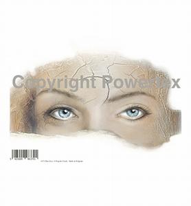 Powertex laserprint 379 Blue Eyes (blauwe ogen/vrouw) A4