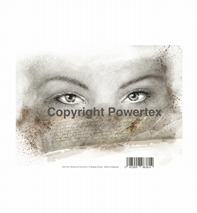 Powertex laserprint 381 Written in your eyes (ogen vrouw) A4