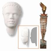 Powertex African collection 0026 Prince 5 gezichtjes