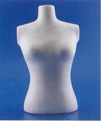 Styropor Torso 30cm vrouw art.1995999
