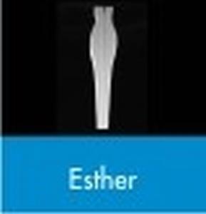 Styropor vorm lijf voor Esther 24,5x5,5cm dikte 3cm