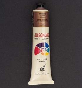 Jo Sonja's 052 metallic acrylverf burnished Copper