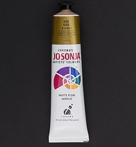 Jo Sonja's 054 metallic acrylverf Rich gold