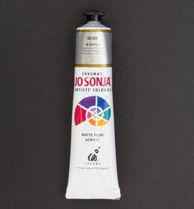 Jo Sonja's 055 metallic acrylverf Silver