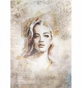 Powertex Silk Paper 0303 Portrait 1  47x35cm