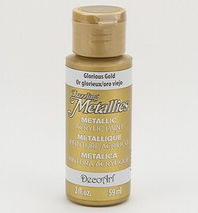 DA071 Dazzling Metallics Glorius Gold  59ml/2fl.oz.