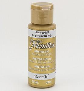 xDA071 Dazzling Metallics Glorius Gold