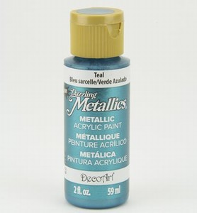 xDA322 Dazzling Metallics Teal