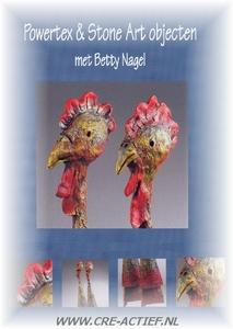 Betty Nagel,  Powertex en StoneArt objecten  A4