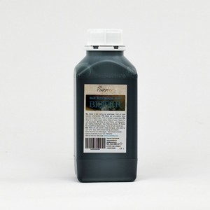 Powertex Bister vloeibaar 0461 Black (fles)  500ml fles