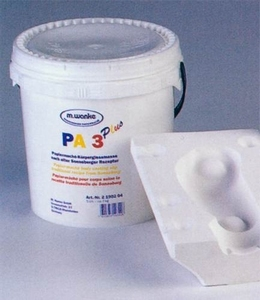 Papier-Mache gietmassa Wancke PA3 2.1902.04 ca.5kg  ca.7 liter/5 kg