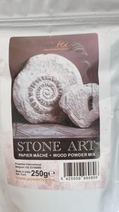 Powertex 0080 Stone Art poeder 1 liter/250 gram