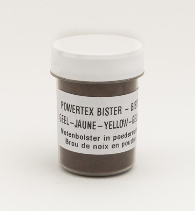 Powertex 0280 Bister poeder Yellow / Geel