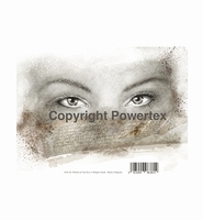 Powertex laserprint 381 Written in your eyes (ogen vrouw)