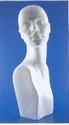Styropor hoofd vrouw met buste
