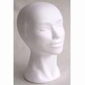 Styropor hoofd ''budget'' vrouw 29cm