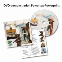 DVD Powertex en stone art