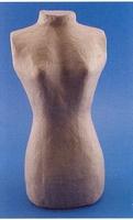 Papier-mache torso vrouw art. 9396D 30cm