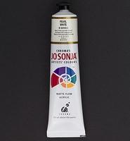 Jo Sonja's 051 metallic acrylverf Pearl White (Parelmoer wit