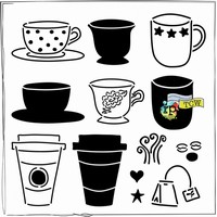 Stencil 12 inch. Cafe Latte TCW31614347