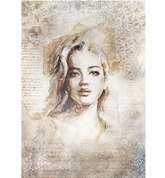Powertex Silk Paper 0303 Portrait 1 47x35cm