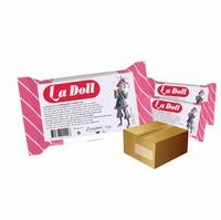 La Doll zelfhardende poppenklei wit (cremekleurig)