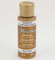 DA072 Dazzling Metallics Ventian Gold 59ml/2fl.oz.