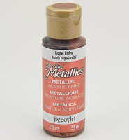 DA074 Dazzling Metallics Royal Ruby 59ml/2fl.oz.