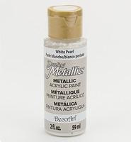 DA117 Dazzling Metallics White Pearl
