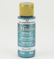 DA322 Dazzling Metallics Teal Mint