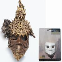 Powertex Venetiaans mini masker 0132 boos/grimmig